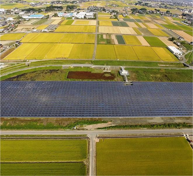 Saitama Kumagaya City Mega Solar Plant
