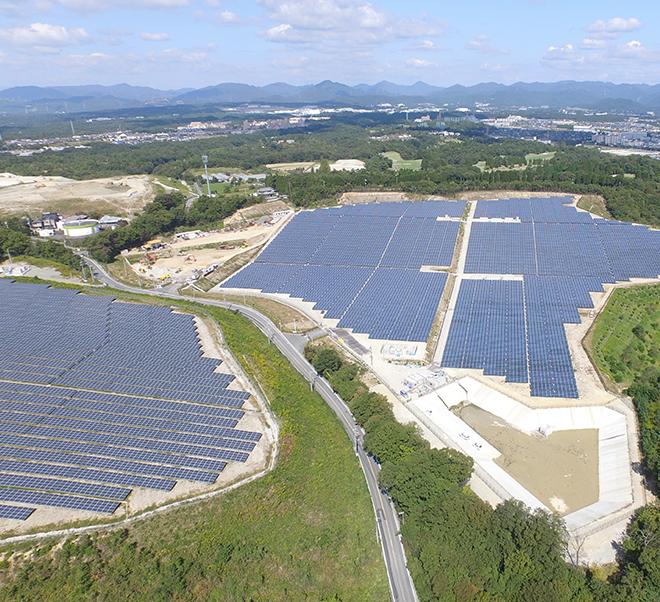 Hyogo Sanda City Mega Solar Plant