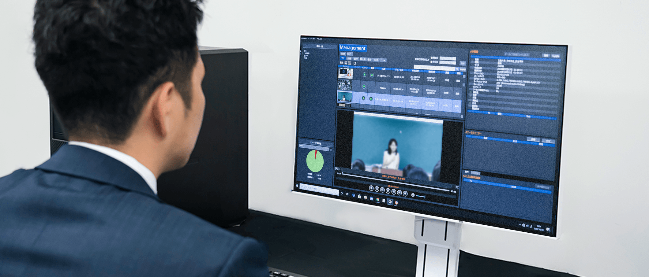 AI-equipped lecture recording and utilization solution DaAlps ™ For Education