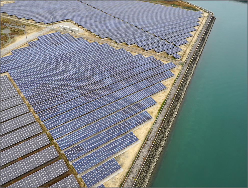 Ehime prefecture Yoshiumi- port No.1 Solar power plant